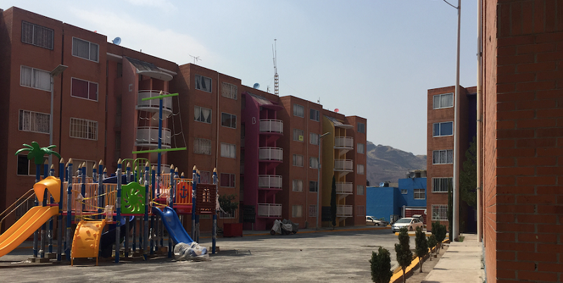 Apartments at Acapatzingo Cooperative. Photo by Rachel Rowe