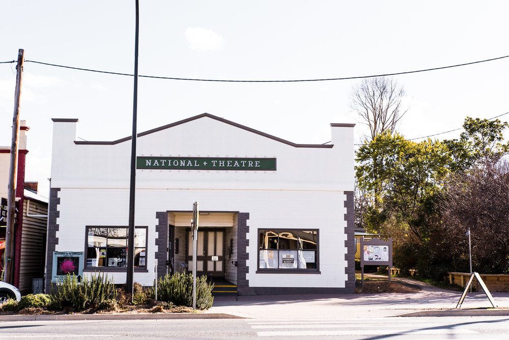 historic and heritage listed national theatre in braidwood nsw