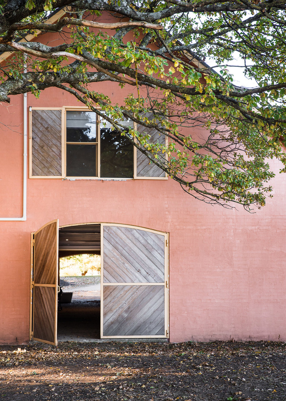 The Stable doors and farm life at Mona Farm