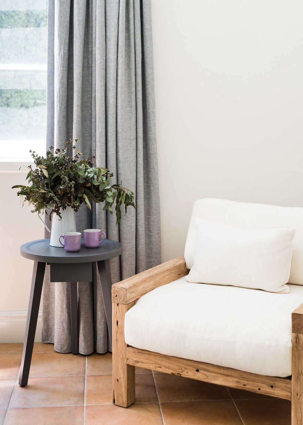 Designer furniture and interiors from Curious Grace at Mona Farm, Braidwood