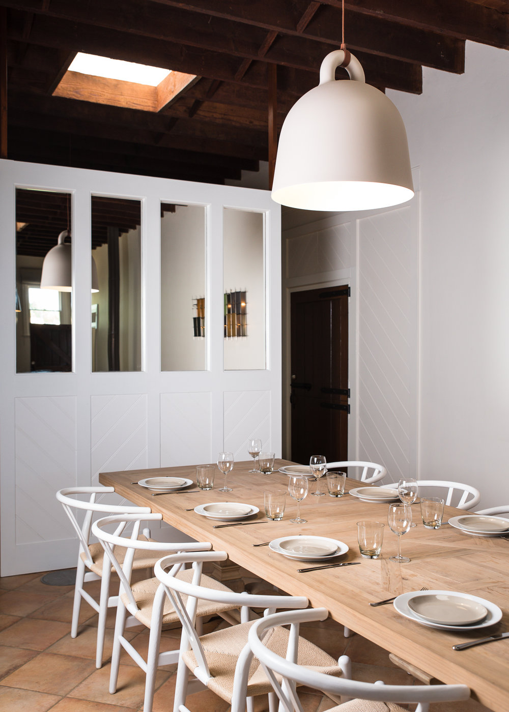 Designer MCM Furniture and Contemporary luxury interiors at The Coach House, Mona Farm