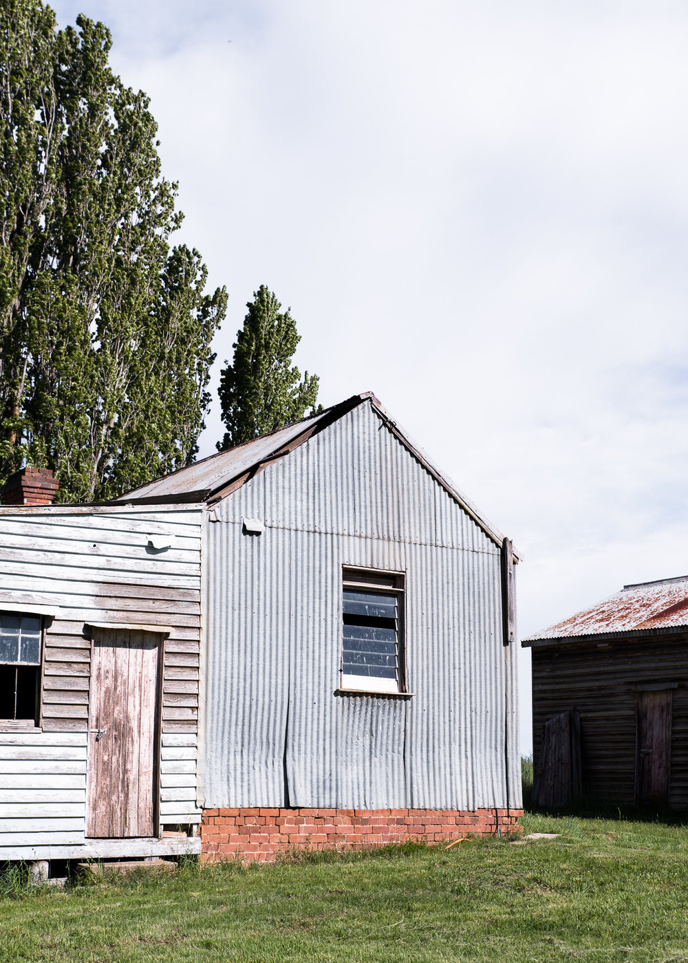 Working farm buildings and unique accommodation at Mona Farm