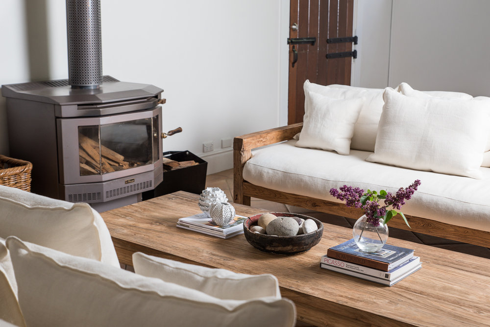 laid back luxury accommodation in The Coach House at Mona Farm