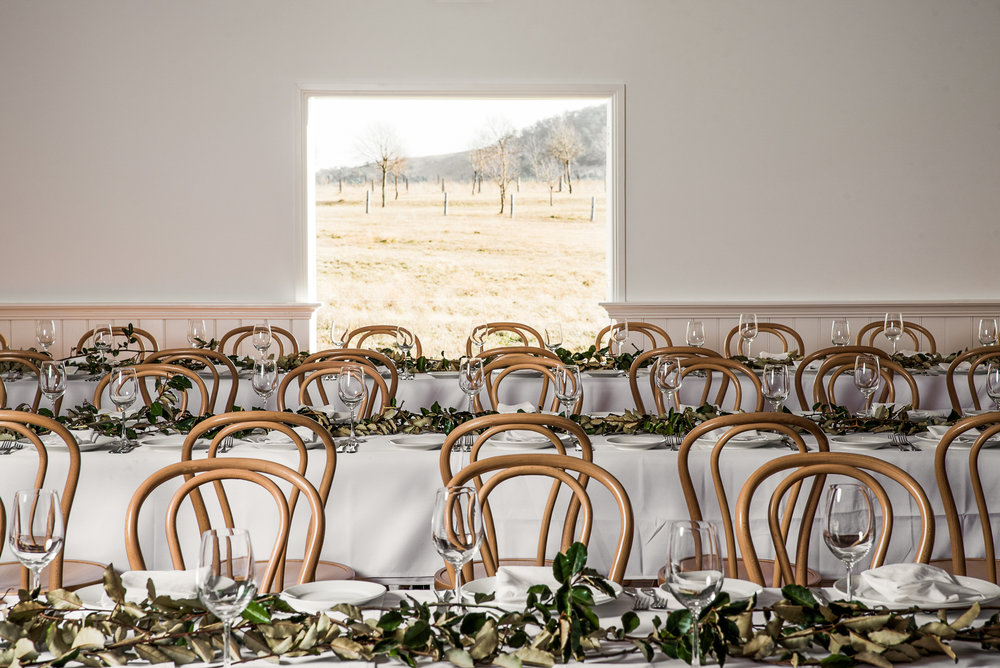 Milestone birthdays and parties styled in the Woolshed at Mona Farm, Braidwood NSW
