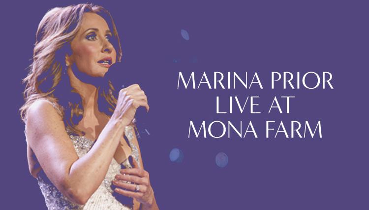 Marina Prior Canberra Wind Symphony live concert Mona Farm braidwood