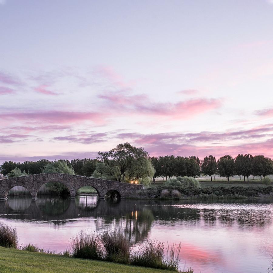 Mona Farm at Sunset