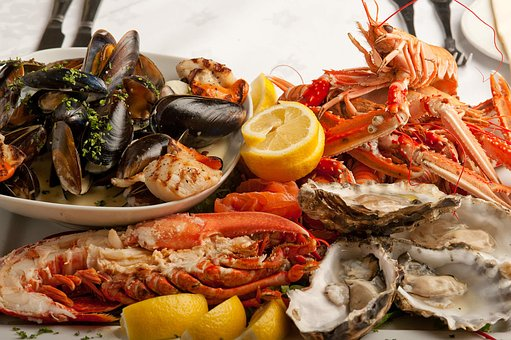 A feast of shellfish