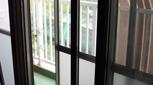 壱の家の2重窓
