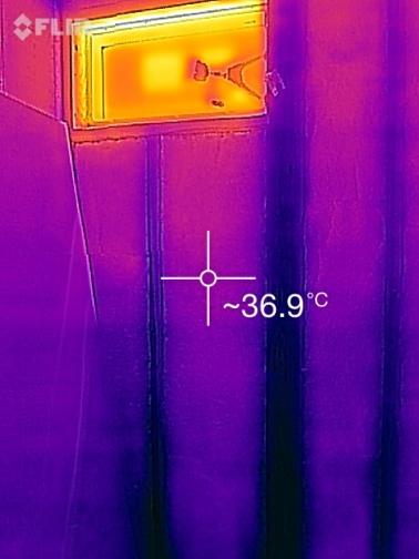 断熱施工面壁