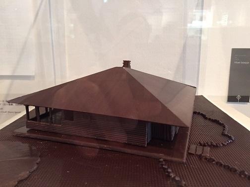チョコで出来た模型