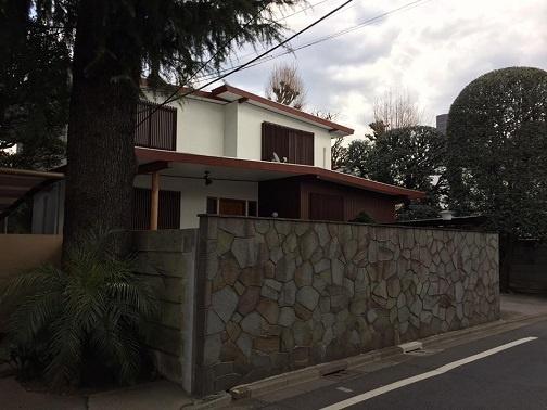 吉村事務所北側の住宅