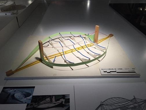 代々木競技場模型