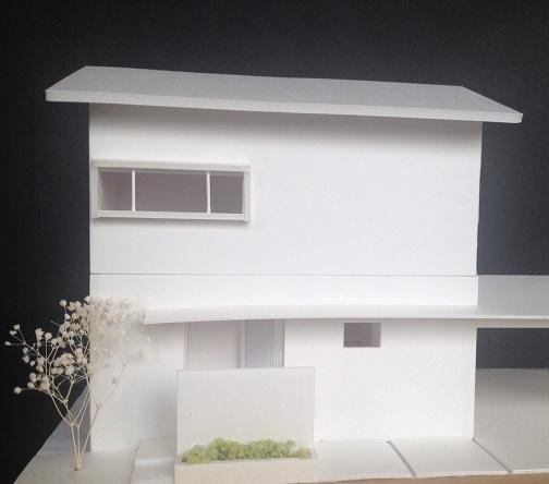 ホワイト模型