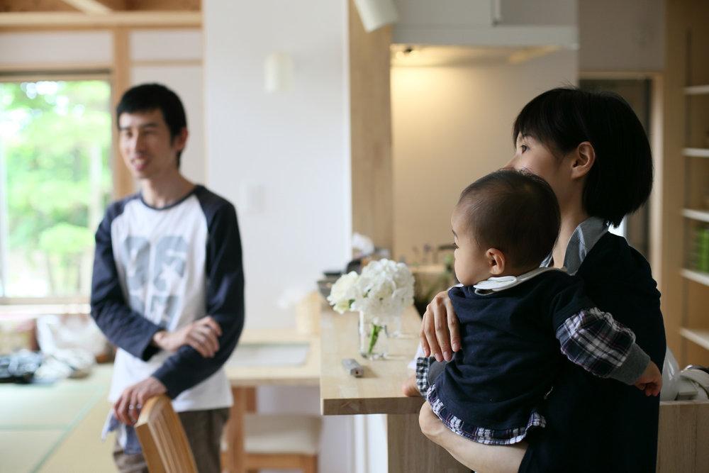夫「家づくりは、自分の価値観の見直しと再発見の連続です。」