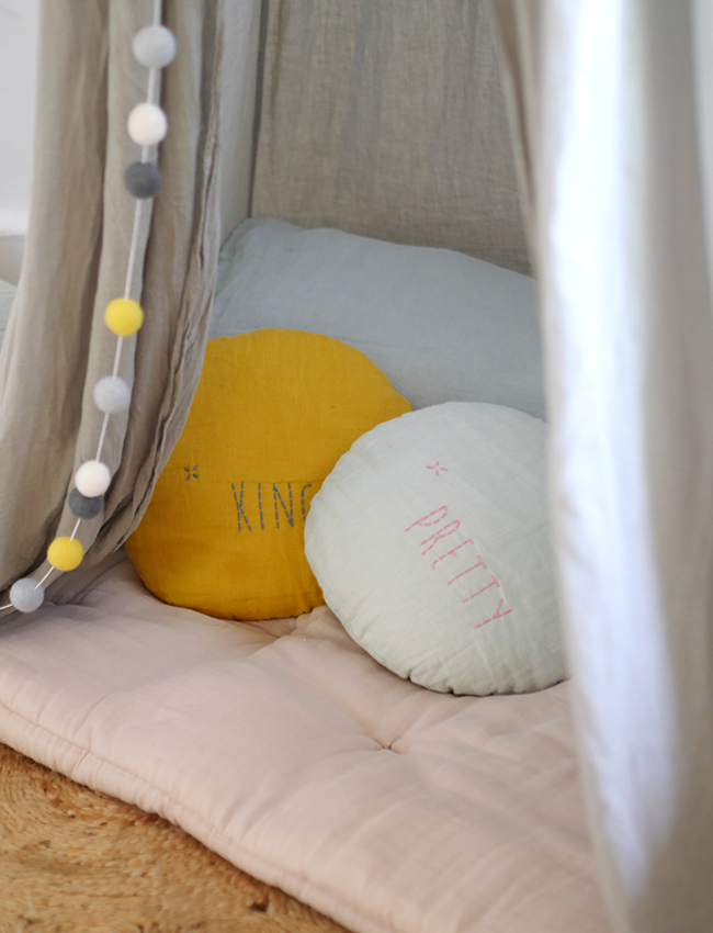 Cuckoo Little Lifestyle cushions in teepee.jpg