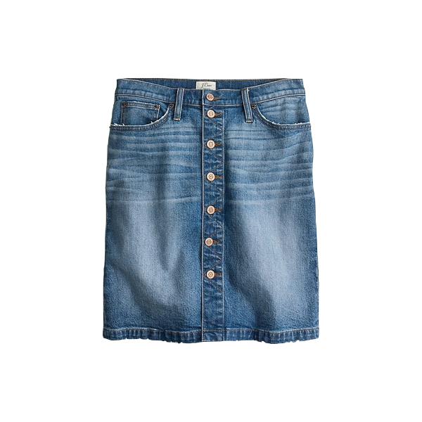 Button Down Skirt, J Crew