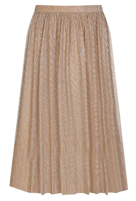 Yumi Shimmer Pleated Skirt