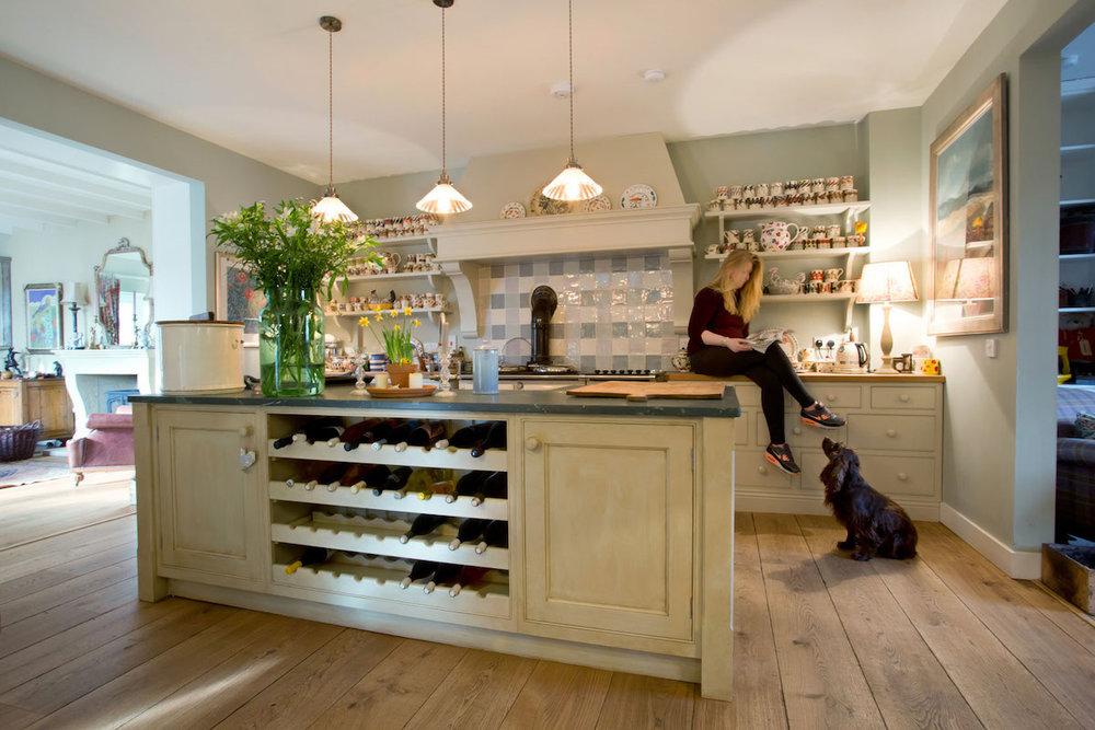Stunning bespoke countryside kitchen