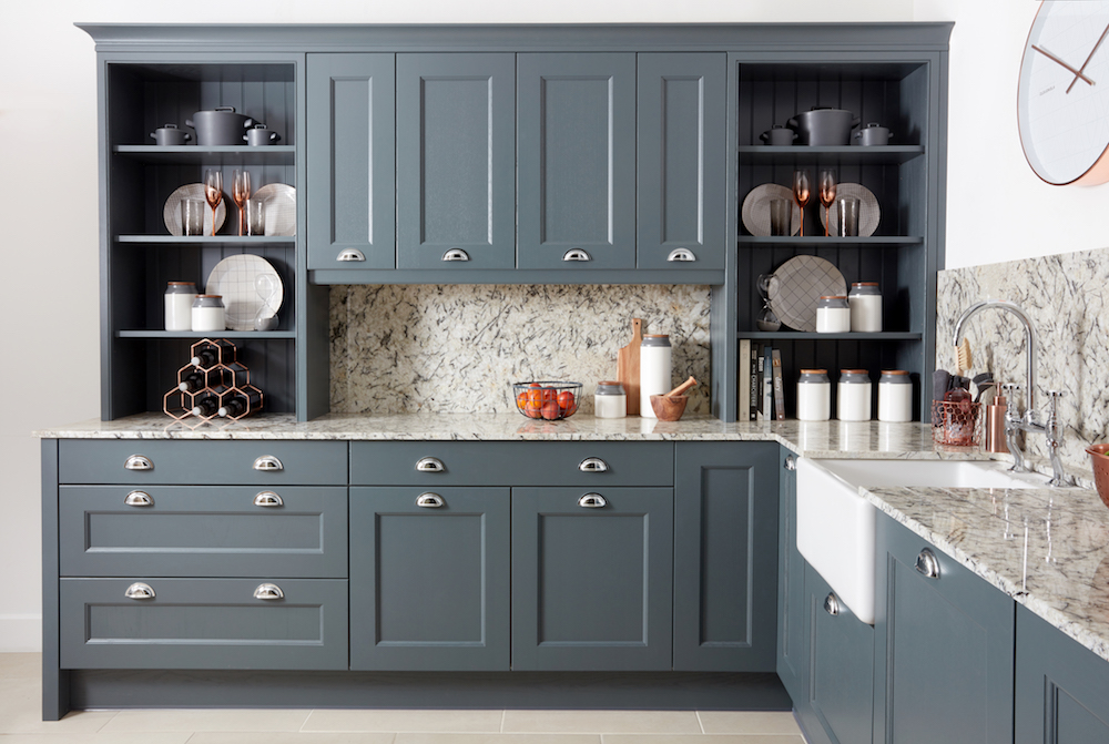 """""""We couldn't fault Jerry's project management. Everything happened to schedule, without any problems."""" - We fitted this modular kitchen within 4 weeks of getting the enquiry. Using a strong colour pallet maintain a contemporary feel with stunning Scottish build quality. Our client loved what we were able to achieve even on a relatively small budget."""