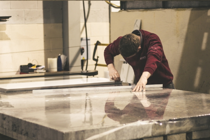 Creating a beautiful granite worktop