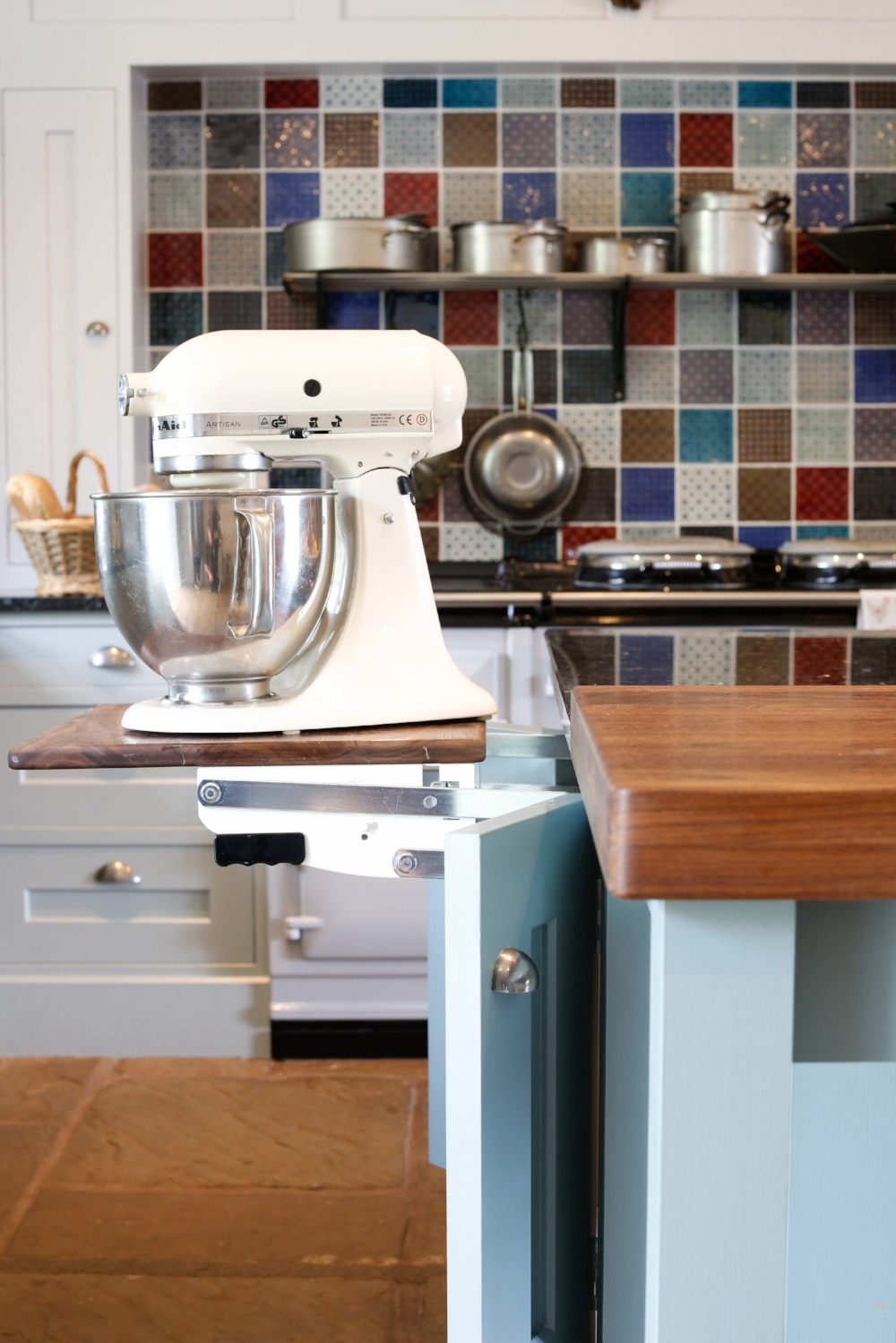 mixer in handmade kitchen.jpg