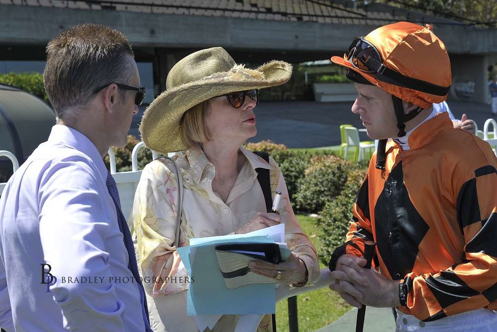 Image courtesy of Bradley Photographers - Mark, Gai and Tommy Berry