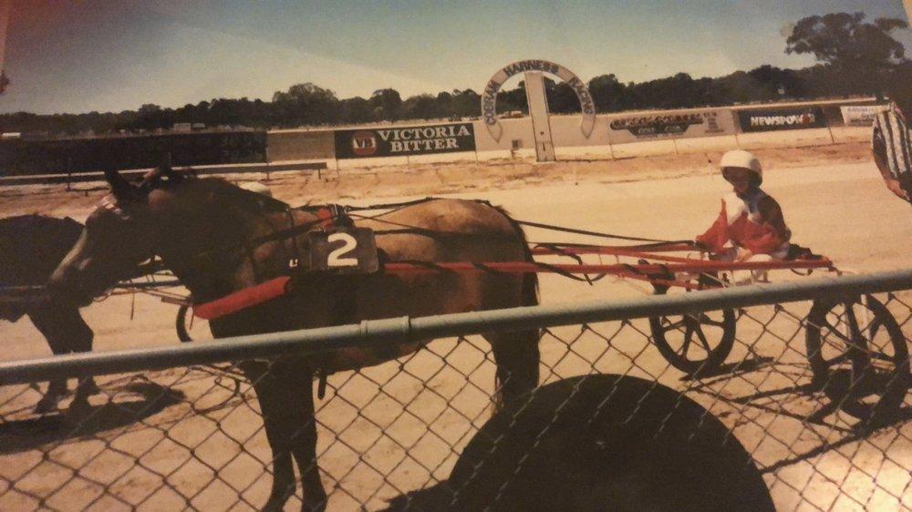 Rebecca with her super pony Princess - still alive at 35