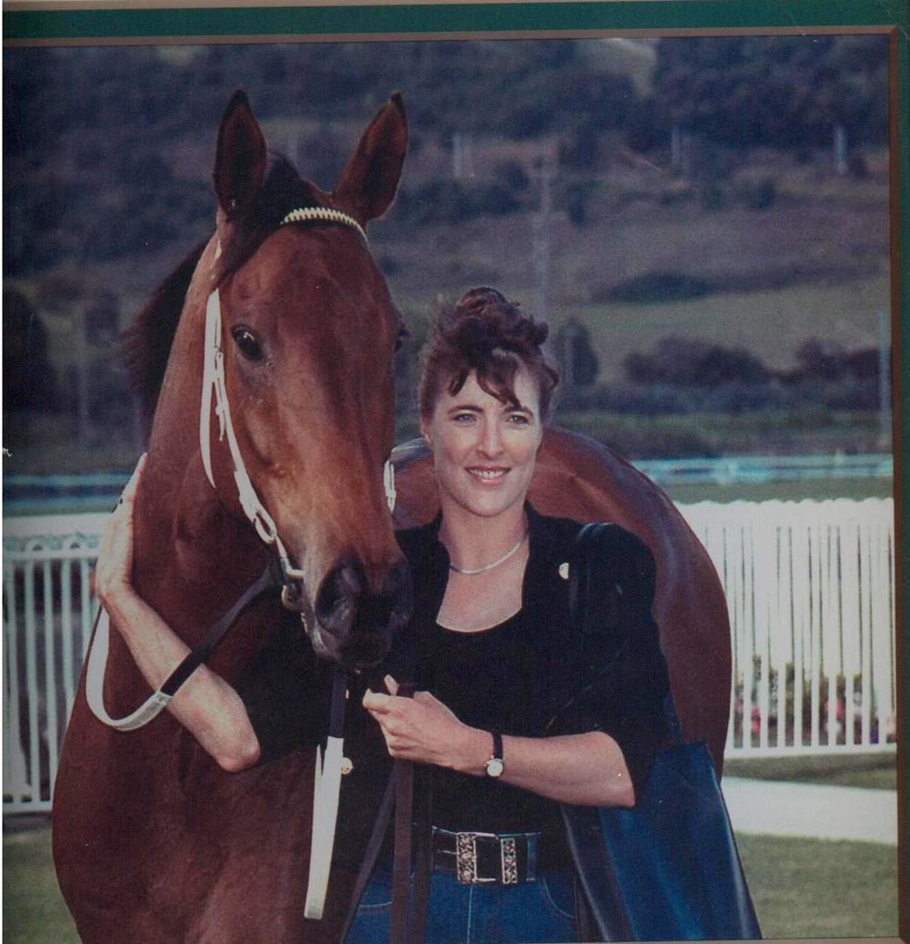 Monique Robinson (nee Miller) is a former trainer. She owned and trained Tobias Reef, who won 9 races including the 2KY Cup at Kembla Grange.