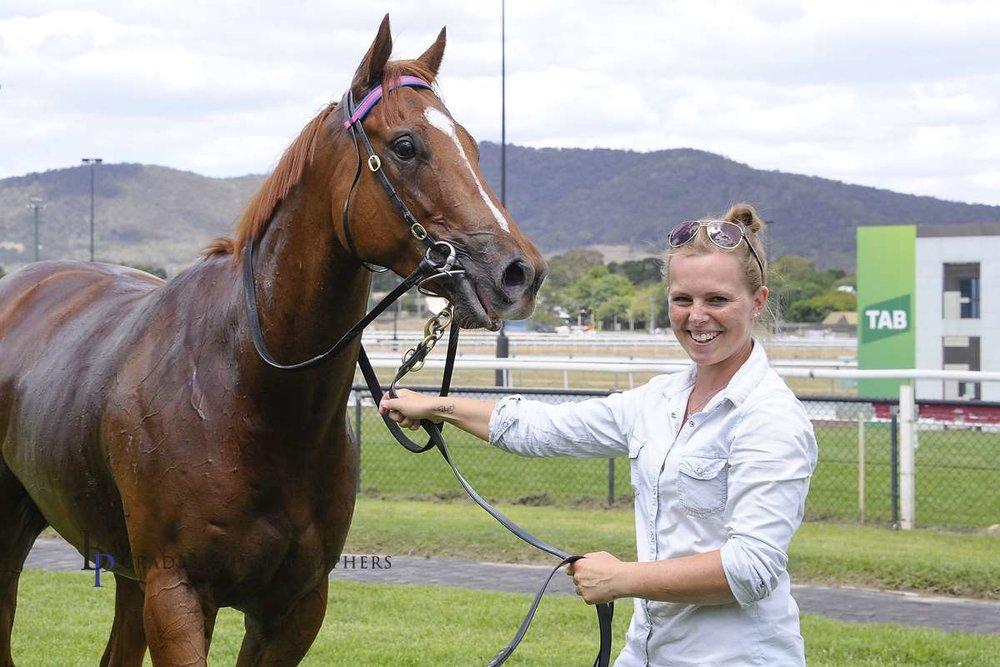 Image courtesy Bradley Photographers - Tash Burleigh's love of horses has never diminished.
