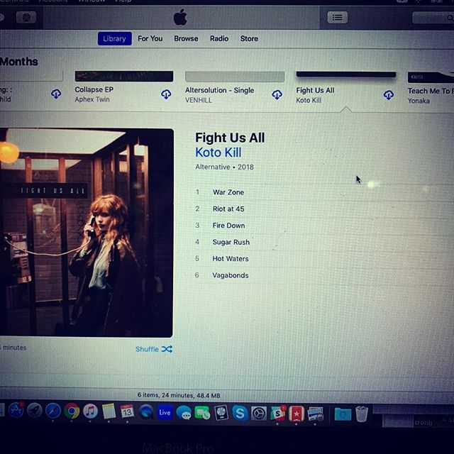 Don't ya wish this was your iTunes right now? Pre-order Fight Us All and by Friday it will be.