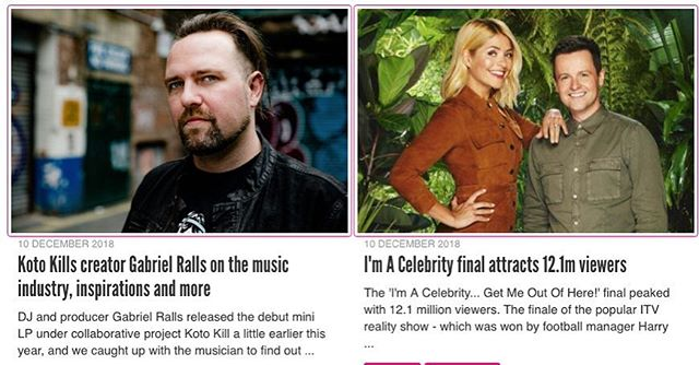 #imaceleb gets over 12m views. Meanwhile, I have a #newalbum out. Check out the interview on @femalefirst_uk #interview #kotokill @electrorock #femalefirst #imacelebrity @hollywilloughby @antanddecofficial