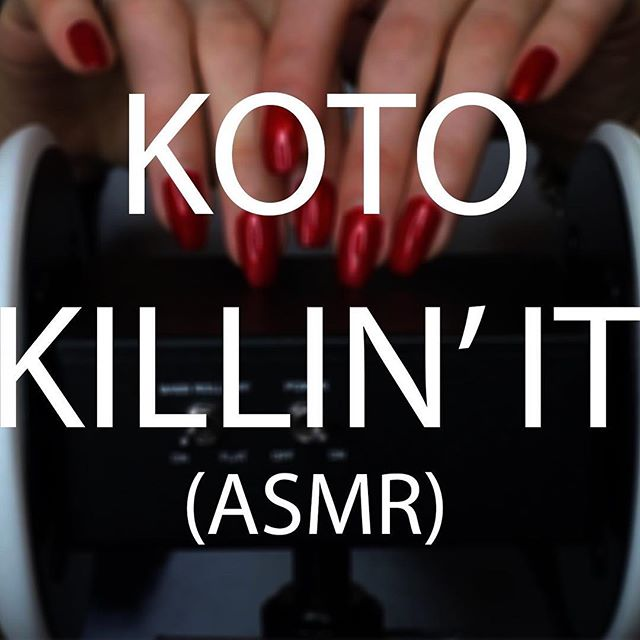 "Koto Kill is proud to announce that the next EP will be called ""Koto Killin' It - ASMR"": 4 songs of intense, remixed & relaxing binaural sounds, featuring Gabriel's favourite ASMR artists.  Track listing is as follows:  1. Tappin' Dat Cork (feat. Gibi ASMR) 2. Bad, Bad Reviews: traced & whispered (feat. Goodnight Moon) 3. 45 Sleepy Triggers To RIOT To (feat. ASMR Darling) 4. Pouring water on expensive microphones (Skit) 5. Scratch Dat Vinyl (feat. Solfrid ASMR)  The EP will be released later this year, when everyone's forgotten that Fight Us All was even a thing that actually happened."