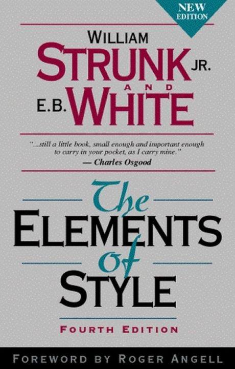 The elements of style  - Questo manuale offre consigli pratici per migliorare le capacità di scrittura in Inglese.