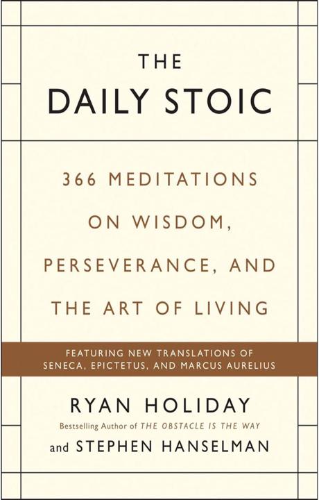 The daily stoic - Se vuoi un libro sulla filosofia semplice, chiaro, comprensibile e pratico allora questo fa per te. (ottimo per sviluppare resilienza)
