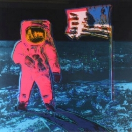 Andy Warhol (1928-1987), Moonwalk (Red), 1987, sold for $120,000