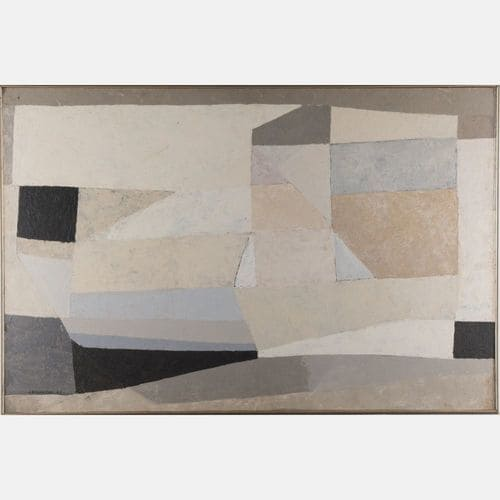 Untitled  Julian Stanczak Sold for $15,000