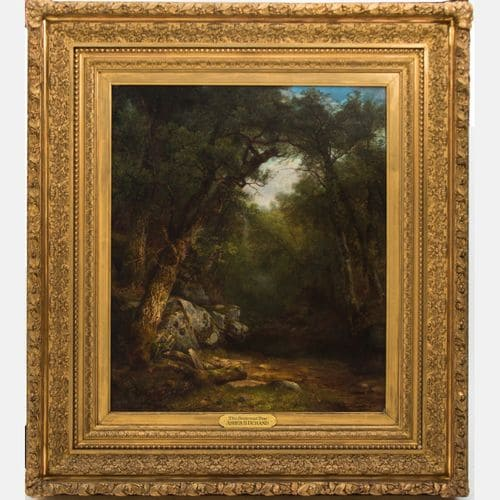 The Butternut Tree  Asher Brown Durand  Sold for $35,000