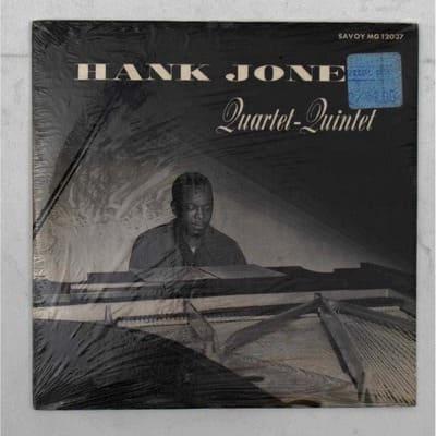 'HANK JONES QUARTET QUINTET' VINYL LP