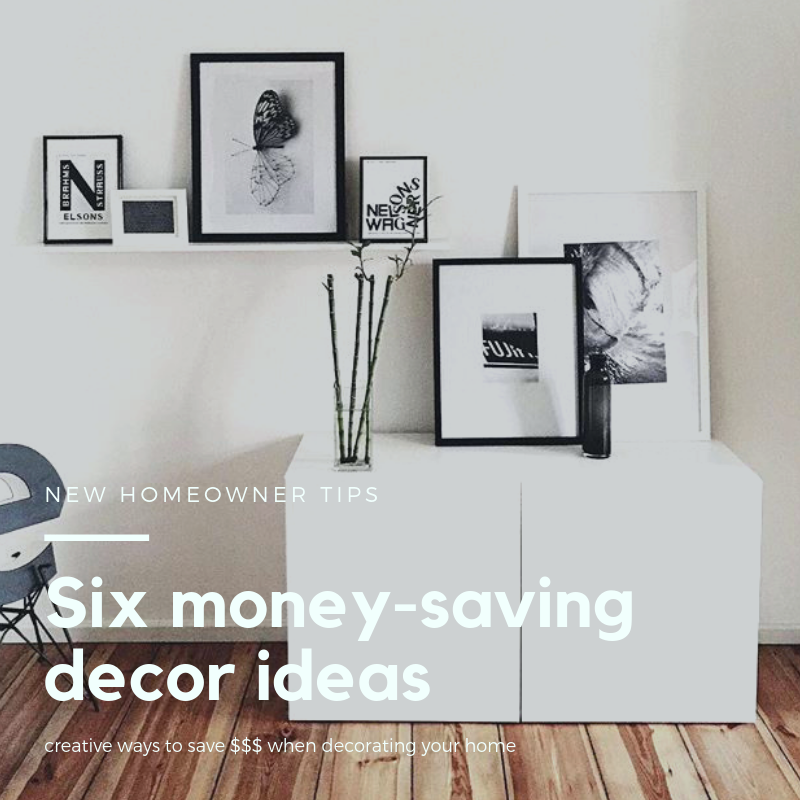 6 tips on how to decorate your first home on a budget ...