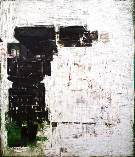 John Brown, February 4 2033, 2008-09 Oil on panel, 213x183cm