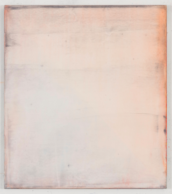 Matthias Reinmuth,  Rosa , 2016, mixed media on canvas, 90x80cm