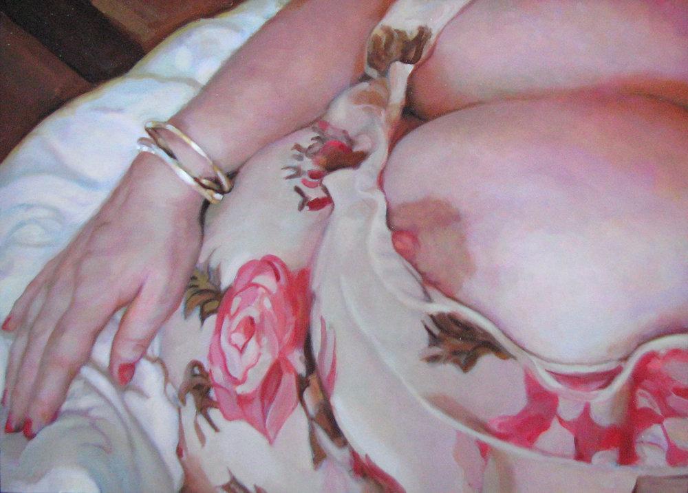 Peter Wilde W4M (2015)  Oil on Board, 22 x 30 cm