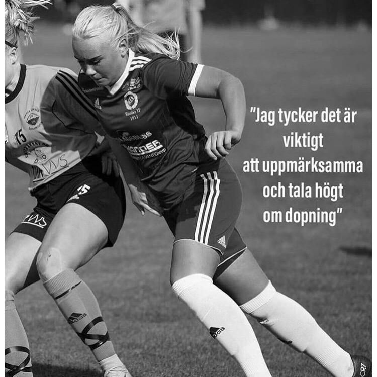 Tuva Klar -Norrtäljes lokala ambassadör för 100% Ren Hårdträning