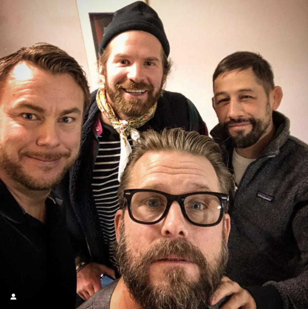 Gänghet som medverkade vid den senaste podden: Jonas Karlsson, Peter Svensson, Musse Hasselvall och Johan Öhman. Ni hittar podden på vår podd-sida, eller där poddar finns.