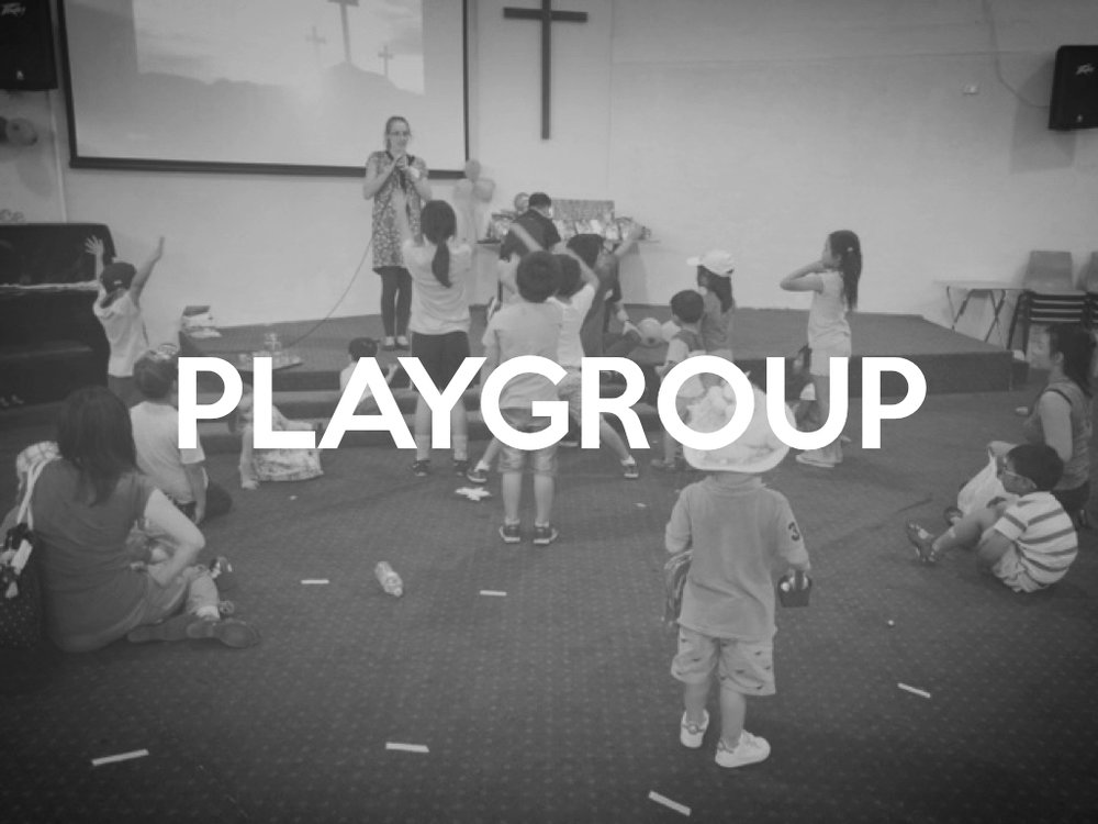 Every Wednesday, from 10am-11:30am, we have a Playgroup for children 0-5 years. We use fun music and dancing to connect with young families.