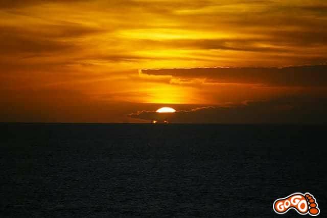 A highlight of Fuerteventura - sunset at El Cotillo