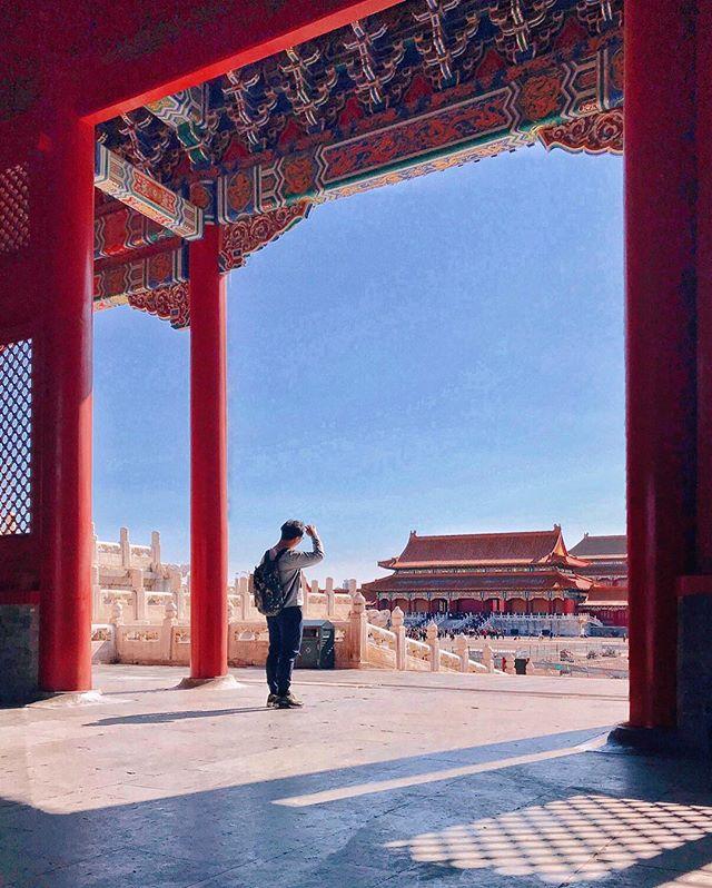 Forbidden city. I'm in 🤫