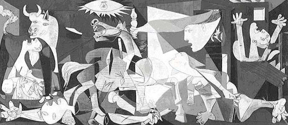 Figure 3. Picasso P.  Guernica . 1937. Museo Reina Sofia, Madrid, Spain.