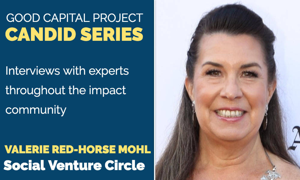 Valerie Red-Horse Mohl, Social Venture Circle - GCP Candid Series