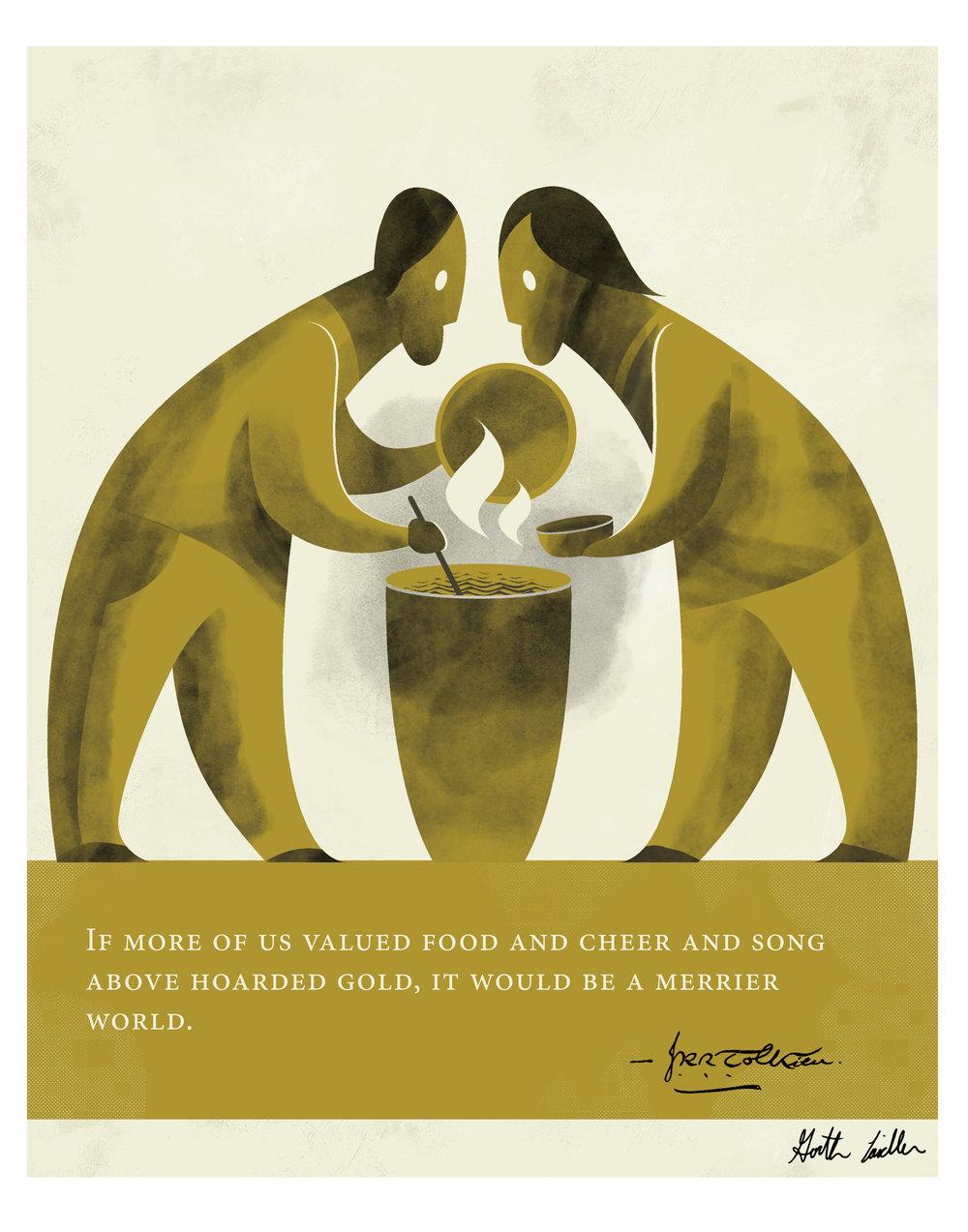 Quote Illustration - J.R.R. Tolkien